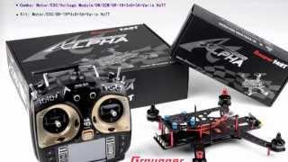 getlinkyoutube.com-Graupner ALPHA 250 RACE Copter HD Video.