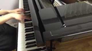 getlinkyoutube.com-偽物語 OP「白金ディスコ」ピアノ