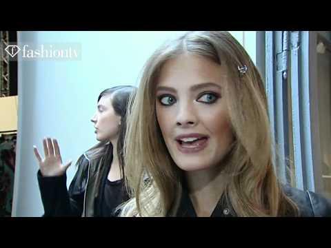 fashiontv - Constance Jablonski  Model Talk Spring Summer 2011 - fashiontv | FTV.com