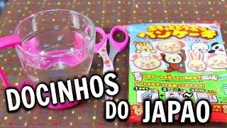 getlinkyoutube.com-Docinhos do Japão | Panqueca de coelho | ぷちっとどうぶつパンケーキ