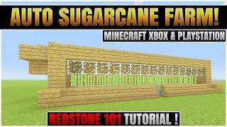 getlinkyoutube.com-Minecraft Xbox 360 & PS3 :  FULLY AUTOMATIC SUGARCANE FARM! |  TU26 : REDSTONE TUTORIAL