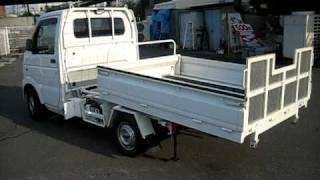 getlinkyoutube.com-【新商品】JA 車業界初 特許取得済 農援ローダー 軽トラを積車に!