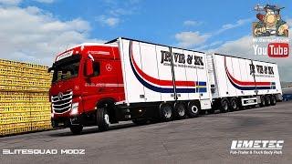 [ETS2 v1.24] Limetec Full-Trailer & Truck Body Pack v1.1 for all Trucks