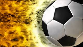 getlinkyoutube.com-Black and White Soccer Ball Video Background Loop