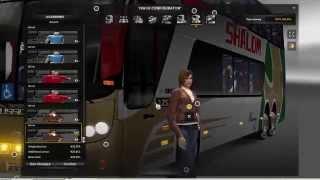 getlinkyoutube.com-Euro Truck Simulator 2 Thailand Mod Bus  Panoramico DD 2007 6x2 v1.15.x/1.16.x Part1