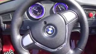getlinkyoutube.com-KINDER ACCU AUTO BMW X6