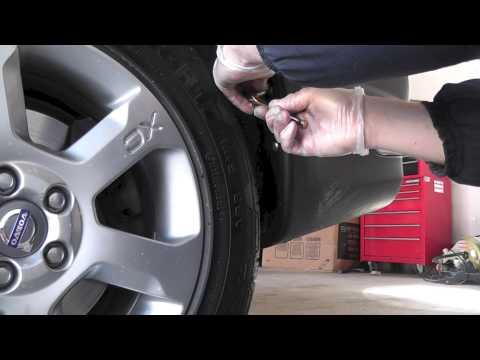 Volvo XC70 Mudflaps Installation