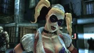 getlinkyoutube.com-The Transformation Of Harley Quinn (Batman Arkham Origins)
