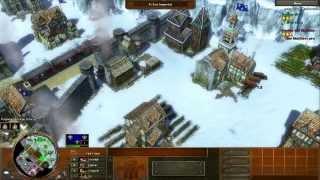 getlinkyoutube.com-Age of Empires 3 - Multiplayer, Altas Estratégias...