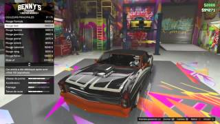 getlinkyoutube.com-GTA 5 Online - Benny's Original Motor Work Buccaneer Custom