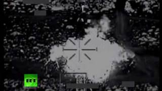 Combat camera: Video of UK Apache choppers striking Libya targets