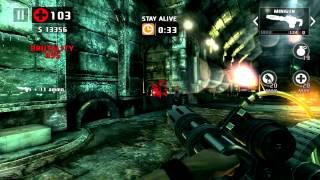 getlinkyoutube.com-Dead Trigger 2: Minigun MK10 + Damage Booster = CARNAGE