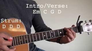 All Of Me Guitar Tutorial (John Legend)
