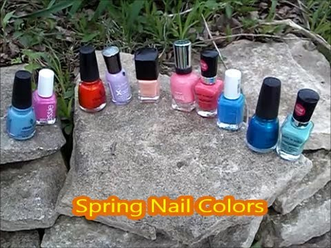Top 10 Nail Polish Picks for Spring 2013