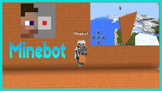 getlinkyoutube.com-[ Minecraft PE ] วิธีใช้ แอป Minebot - หุ่นยนต์ทำสิ่งต่างๆๆ