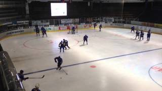 getlinkyoutube.com-Pre game warm-up drills WJC U18