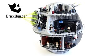 getlinkyoutube.com-Lego Star Wars 10188 Death Star - Special for 100 million views!!!