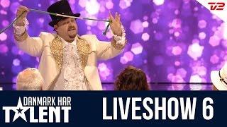 Tryllekunstneren Henning Nielsen - liveshow 6 - Danmark har talent