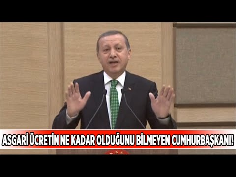 tayyip erdoğan'ın asgari ücretle imtihanı...