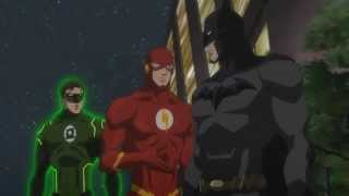 getlinkyoutube.com-Doblaje - Flash conoce a Batman - Justice League War - Español