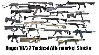 getlinkyoutube.com-Ruger 10/22 Aftermarket Tactical Stocks