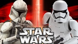 Clone Trooper vs. First Order Stormtrooper - Versus Series