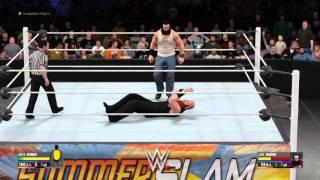 getlinkyoutube.com-WWE 2K16 : Erick Rowan vs Luke Harper
