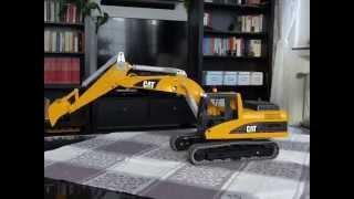getlinkyoutube.com-Bruder CAT Bagger mit CTI RC Umbau