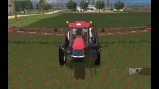 getlinkyoutube.com-Farming Simulator 2015:  Spraying Herbicide with Case 4440 Patriot