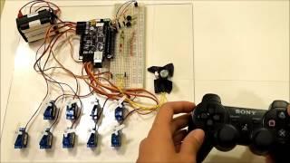 getlinkyoutube.com-Wireless Servo Control with a PS3 Controller