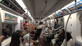 getlinkyoutube.com-MTA NYC Subway: On Board R142 (5) Train from 14th St.-Union Square to Fulton St.