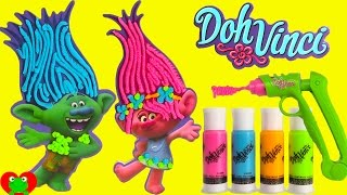 getlinkyoutube.com-DIY Trolls Doh Vinci Desk Organizer and Shopkins Season 7 Surprises