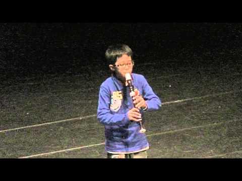 下楫國小陳俊宇榮獲101年度音樂比賽直笛獨奏甲等 2