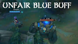 getlinkyoutube.com-Unfair Blue Buff! RIOT please fix it!