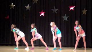 The 4 Sweets (Dancing In Talent Show) 2012