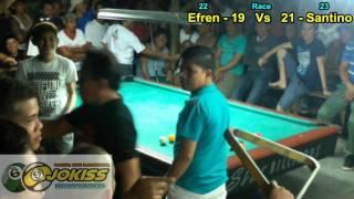 "getlinkyoutube.com-Santino Arevalo Vs Efren ""Bata"" Reyes (Alabang Junction) Part 5"