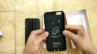 getlinkyoutube.com-Dual SIM dual standby cases 2 SIM activated at the same time for iPhone 6plus/6s plus