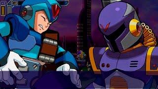 Mega Man Maverick Hunter X HD Walkthrough 100% [Hard/PPSSPP/720p][Part 1][Opening Stage]