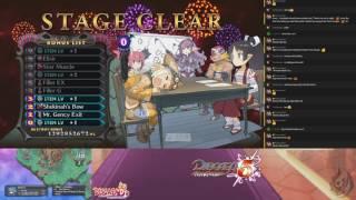 getlinkyoutube.com-Disgaea 5 Stream (Day 424) + Disgaea D2