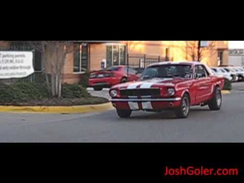 Classic Red 1960's Mustang - Beautiful Car