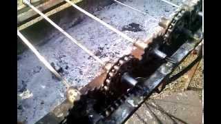 getlinkyoutube.com-Мангал с электроприводом своими руками №1