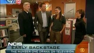 getlinkyoutube.com-NCIS Cast on The Early Show - 22/09/09 - part 2