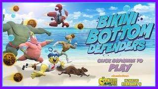 Spongebob Squarepants Movie: Sponge Out of Water - Bikini Bottom Defenders Game