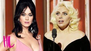 getlinkyoutube.com-Katy Perry, Lady Gaga: Golden Globes 2016 Best & Worst Dressed