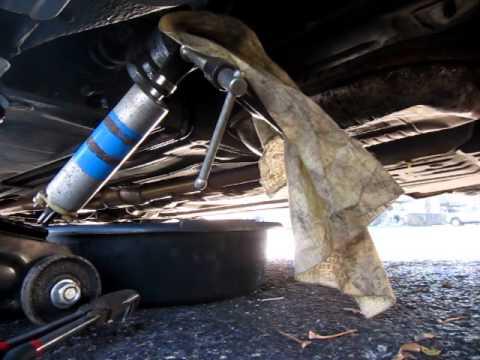 Замена топливного насоса и фильтра pump and filter replacement Mercedes W210