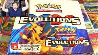 getlinkyoutube.com-Ouverture d'un Display Pokémon XY12 EVOLUTIONS #1 ! MEGA FULL ART !!!