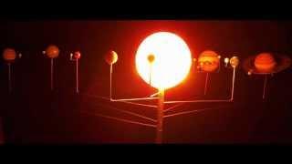 getlinkyoutube.com-Solar system model