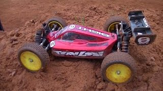 getlinkyoutube.com-Losi Mini 8ight ``o=o¬ First Run on 3s @ Quarry - RC Car Club