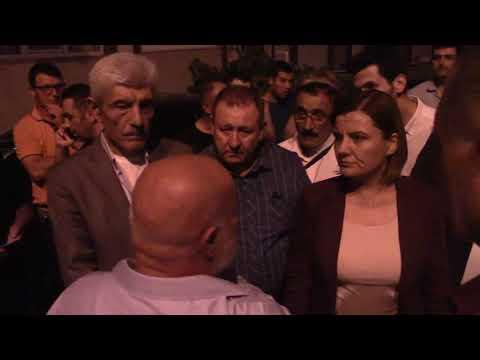 Başkanın Videoları - BAŞKAN HÜRRİYET BİNA MAĞDURU VATANDAŞLARIN YANINDA