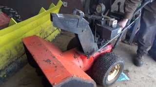 getlinkyoutube.com-fixing up the old snowblower we picked up yesterday